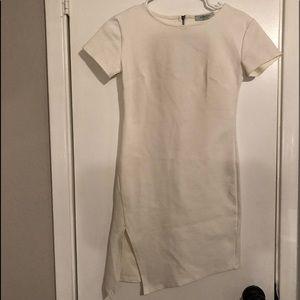 White mini dress !